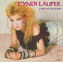"I see you switched your ""I"" and ""Y"".  Well played, Ms. Lauper.  Well played."
