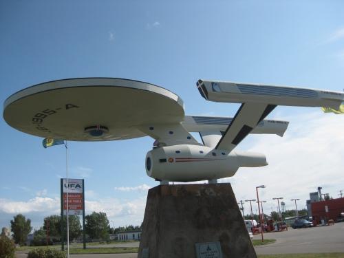 In Vulcan, Alberta.